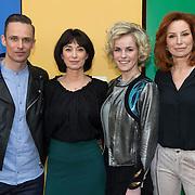 NLD/Amsterdam/20140306 - Presentatie Fashionplanet, Patrick Martens, Manouk van der Meulen, Josje Huisman, Marian Mudder