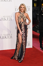 Stephanie Pratt arriving for the Fifty Shades Darker European Premiere held at Odeon Leicester Square, London. Picture date: Thursday February 9, 2016. Photo credit should read: Doug Peters/ EMPICS Entertainment