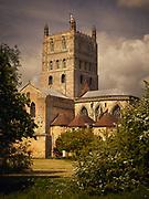 Tewkesbury Abbey, Gloucestershire, UK