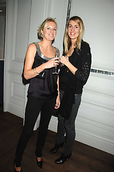 Left to right, LADY MARIA BALFOUR and TALIA CARLETON PAGET at a party to promote The Landau at The Langham, Portland Place, London W1 on 7th February 2008.<br />