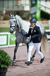 Anita Johnsson, (SWE), Nefertiti, - Horse Inspection Para Dressage - Alltech FEI World Equestrian Games™ 2014 - Normandy, France.<br /> © Hippo Foto Team - Jon Stroud<br /> 25/06/14