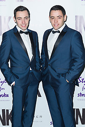 © Licensed to London News Pictures. 04/12/2013, UK. <br /> Richard and Adam Johnson, INK, London UK, 04 December 2013. Photo credit : Raimondas Kazenas/Piqtured/LNP
