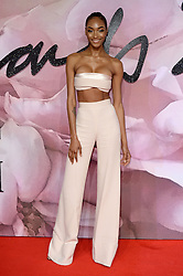 Jourdan Dunn attending The Fashion Awards 2016 at The Royal Albert Hall in London. <br /> <br /> Picture Credit Should Read: Doug Peters/ EMPICS Entertainment