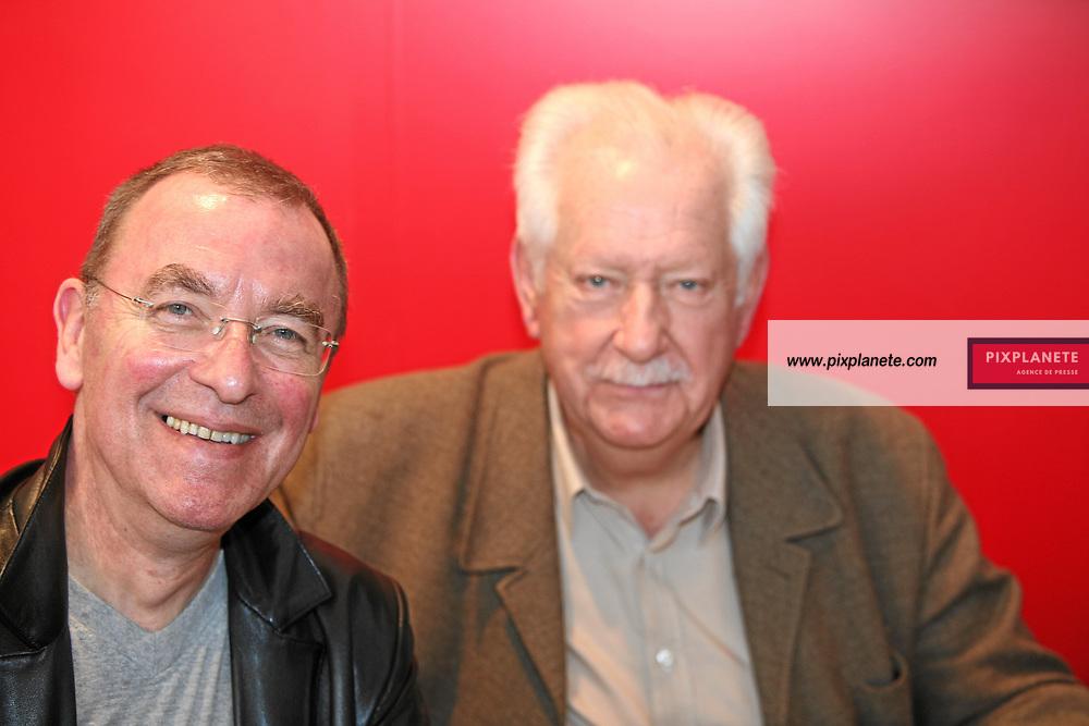 Pierre Bellemare - Salon du livre - Paris, le 25/03/2007 - JSB / PixPlanete
