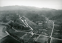 1925 Aerial photo of Hollywood Country Club on Coldwater Canyon Blvd.