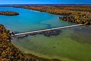 Kangaroo Lake in Door County, Wisconsin. Photo by Mike Roemer
