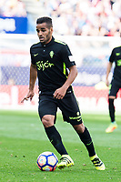 Sporting de Gijon's Douglas during a match of La Liga Santander at Vicente Calderon Stadium in Madrid. September 17, Spain. 2016. (ALTERPHOTOS/BorjaB.Hojas)