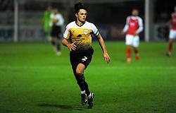 Perry Ng of Crewe Alexandra- Mandatory by-line: Nizaam Jones/JMP - 28/11/2020 - FOOTBALL - Jonny-Rocks Stadium - Cheltenham, England - Cheltenham Town v Crewe Alexandra - Emirates FA Cup second round