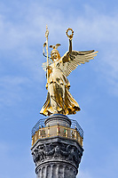 The Victory Column in berlin germany