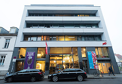 Exterior view of ME Collectors Room art gallery on Auguststrasse in Mitte Berlin Germany