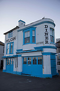 The Pelican, a retro diner on the 20th April 2019 in Hastings in the United Kingdom. Hastings is a town on England's southeast coast, its known for the 1066 Battle of Hastings.