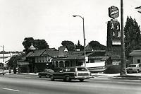 1973 Abruzzi Restaurant on Sunset Blvd.