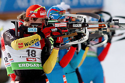 10.12.2011, Biathlonzentrum, Hochfilzen, AUT, E.ON IBU Weltcup, 2. Biathlon, Hochfilzen, Verfolgung Herren, im Bild Peiffer Arnd (GER) spaeterer 9. // during E.ON IBU World Cup 2th Biathlon, Hochfilzen, Austria on 2011/12/10. EXPA Pictures © 2011. EXPA Pictures © 2011, PhotoCredit: EXPA/ nph/ Straubmeier..***** ATTENTION - OUT OF GER, CRO *****