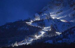 10.02.2021, Cortina, ITA, FIS Weltmeisterschaften Ski Alpin, Vorberichte, Die alpine Ski-Weltmeisterschaft findet von 8. bis 21. Februar 2021 in Cortina d'Ampezzo statt, im Bild Tofana Abfahrt // during preparations, the Alpine World Ski Championships will be held in Cortina d'Ampezzo from 8 to 21 February 2021, FIS Alpine Ski World Championships 2021 in Cortina, Italy on 2021/02/10. EXPA Pictures © 2021, PhotoCredit: EXPA/ Erich Spiess
