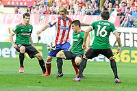 Atletico de Madrid´s  and Athletic Club´s  during 2014-15 La Liga match between Atletico de Madrid and Athletic Club at Vicente Calderon stadium in Madrid, Spain. May 02, 2015. (ALTERPHOTOS/Luis Fernandez)