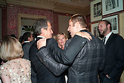 TOM FORD; KATE MOSS; DAVID WALLIAMS; , Graydon Carter hosts a diner for Tom Ford to celebrate the London premiere of ' A Single Man' Harry's Bar. South Audley St. London. 1 February 2010