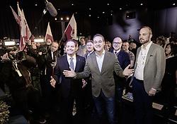 ARCHIVBILD - HC Strache nach Ibiza Video zurückgetreten, im Bild Tirols FPÖ Landesparteiobmann Markus Abwerzger und EX-FPÖ Bundesparteiobmann und EX-Vizekanzler Heinz Christian Strache am Freitag, 12. April 2019, während dem 32. Ordentlicher Landesparteitag der FPÖ Tirol, in Igls // ARCHIVE PHOTO - Tyrol's FPÖ Federal Party leader Markus Abwerzger and Former FPÖ Federal Party Chairman and former Vice Chancellor Heinz Christian Strache during the 32th Ordinary party convention of the FPÖ Tyrol in Igls. Austria on 2019/04/12. EXPA Pictures © 2019, PhotoCredit: EXPA/ Johann Groder