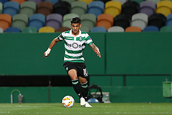 September 20, 2018 - Lisbon, Portugal - Sporting's forward Fredy Montero from Colombia in action during the UEFA Europa League Group E football match Sporting CP vs Qarabag at Alvalade stadium in Lisbon, on September 20, 2018. (Credit Image: © Pedro Fiuza/NurPhoto/ZUMA Press)