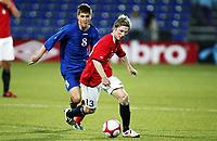 Fotball , 28. april 2011 , U19 , WC. qual.<br /> Norge - Moldova<br /> Norway -Moldova 4-0<br /> <br /> Thomas Drage  , , Norge<br /> Igor Lambhrschi  , Moldova