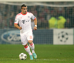 23.10.2012, Grand Stade Lille Metropole, Lille, OSC Lille vs FC Bayern Muenchen, im Bild Xherdan SHAQIRI (FC Bayern Muenchen - 11) Freisteller // during UEFA Championsleague Match between Lille OSC and FC Bayern Munich at the Grand Stade Lille Metropole, Lille, France on 2012/10/23. EXPA Pictures © 2012, PhotoCredit: EXPA/ Eibner/ Gerry Schmit..***** ATTENTION - OUT OF GER *****