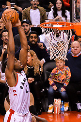 October 19, 2018 - Toronto, Ontario, Canada - Toronto Raptors forward Kawhi Leonard #2 shoots the ball during the Toronto Raptors vs Boston Celtics NBA regular season game at Scotiabank Arena on October 19, 2018 in Toronto, Canada (Toronto Raptors win 113-101) (Credit Image: © Anatoliy Cherkasov/NurPhoto via ZUMA Press)