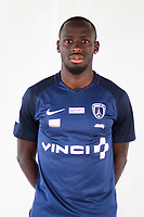 Souleymane Karamoko during photoshooting of Paris FC for new season 2017/2018 on October 17, 2017 in Paris, France<br /> Photo : Stephane Valade / Icon Sport
