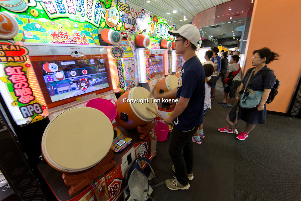 amusement hall in Japanamusement hall in Japan