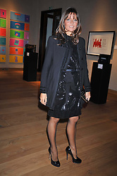 COUNTESS DEBONAIRE VON BISMARCK  at fundraising dinner and auction in aid of Liver Good Life a charity for people with Hepatitis held at Christies, King Street, London on 16th September 2009.