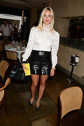 PRINCESS ELISABETH THURN & TAXIS at an evening of Dinner & Dancing at Daphne's, 112 Draycott Avenue, London SW3 on 24th July 2013.