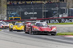 May 6, 2018 - Lexington, Ohio, United States of America - The Mazda Team Joest car races through the turns during the Acura Sports Car Challenge race at the Mid-Ohio Sports Car Course in Lexington, Ohio. (Credit Image: © Walter G Arce Sr Asp Inc/ASP via ZUMA Wire)