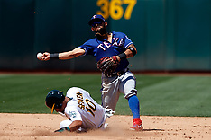 20190728 - Texas Rangers at Oakland Athletics