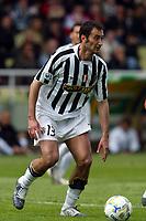 Parma 18/4/2004 Campionato Italiano Serie A <br />30a Giornata - Matchday 30 <br />Parma Juventus 2-2 <br />Mark Iuliano (Juventus)<br /> Foto Graffiti