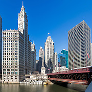 Chicago Wrigley Building, Tribune Tower