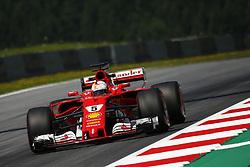 July 7, 2017 - Spielberg, Austria - Motorsports: FIA Formula One World Championship 2017, Grand Prix of Austria, .#5 Sebastian Vettel (GER, Scuderia Ferrari) (Credit Image: © Hoch Zwei via ZUMA Wire)