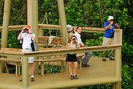 Discovery Center situado en Gamboa, Panamá donde desde una torre de avistamiento de 40 metros, se puede observar los colibríes y mucha variedad de aves. <br /> <br /> El Panamá Rainforest Discovery Center se encuentra en el Pipeline Road en los límites de Parque Nacional Soberania a sólo 40 min de la ciudad de Panamá.<br /> <br /> Es un proyecto de ecoturismo y educación ambiental administrado por la Fundación Avifauna Eugene Eisenmann, cuyo objetivo es la conservación de las aves a través de proyectos de sostenibilidad ambiental<br /> <br /> ©Alejandro Balaguer/Fundación Albatros Media.