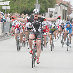 Sportfoto archief 2006-2010<br /> 2009<br /> Kirsten Wild wins omloop van Borselle 2009. Marianne Vos (DSB-Nederland bloeit) 2nd and Alex Greenfield (UK) 3th. It was Wild second victory in this race.