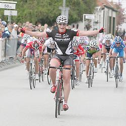 Sportfoto archief 2006-2010<br /> 2009<br /> Kirsten Wild wins omloop van Borselle 2009. Marianne Vos (DSB-Nederland bloeit) 2nd and Alex Greenfield (UK) 3th. It was Wild second victory in this race.