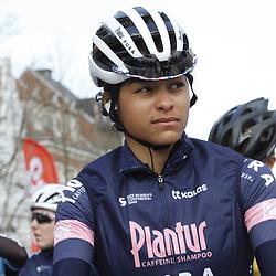 25-03-2021: Wielrennen: Classic Brugge - De Panne Women: De Panne<br />Plantur-Pura <br />Ceylin del Carmen Alvarado