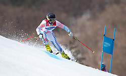 March 14, 2018 - Pyeongchang, South Korea - Staci Mannella during Giant Slalom competition Wednesday, March 14, 2018 at the Jeongson Alpine Center at the Pyeongchang Winter Paralympic Games. Photo by Mark Reis (Credit Image: © Mark Reis via ZUMA Wire)