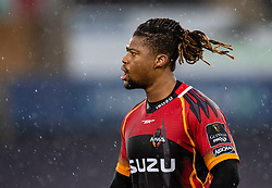Howard Mnisi of Southern Kings<br /> <br /> Photographer Simon King/Replay Images<br /> <br /> Guinness PRO14 Round 6 - Ospreys v Southern Kings - Saturday 9th November 2019 - Liberty Stadium - Swansea<br /> <br /> World Copyright © Replay Images . All rights reserved. info@replayimages.co.uk - http://replayimages.co.uk