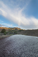Ash desposits near Painted Hills Oregon