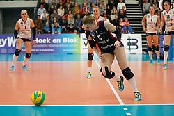 20181024 NED: CL, Sliedrecht Sport - Allianz MTV Stuttgart, Sliedrecht<br />Florien Reesink (5) of Sliedrecht Sport <br />©2018-FotoHoogendoorn.nl / Pim Waslander