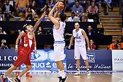 DESCRIZIONE : Trieste Nazionale Italia Uomini Torneo internazionale Italia Serbia Italy Serbia<br /> GIOCATORE : Alessandro Gentile<br /> CATEGORIA : Tiro Three Points Controcampo<br /> SQUADRA : Italia Italy<br /> EVENTO : Torneo Internazionale Trieste<br /> GARA : Italia Serbia Italy Serbia<br /> DATA : 05/08/2014<br /> SPORT : Pallacanestro<br /> AUTORE : Agenzia Ciamillo-Castoria/GiulioCiamillo<br /> Galleria : FIP Nazionali 2014<br /> Fotonotizia : Trieste Nazionale Italia Uomini Torneo internazionale Italia Serbia Italy Serbia
