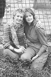 Actress Tippi Hedron and her daughter Melanie Griffith, both of whom appear in 'Roar'.