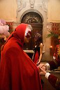 GUIDO TORLONIA, -Francesca Bortolotto Possati, Alessandro and Olimpia host Carnevale 2009. Venetian Red Passion. Palazzo Mocenigo. Venice. February 14 2009.  *** Local Caption *** -DO NOT ARCHIVE -Copyright Photograph by Dafydd Jones. 248 Clapham Rd. London SW9 0PZ. Tel 0207 820 0771. www.dafjones.com<br /> GUIDO TORLONIA, -Francesca Bortolotto Possati, Alessandro and Olimpia host Carnevale 2009. Venetian Red Passion. Palazzo Mocenigo. Venice. February 14 2009.