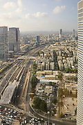 Elevated view of Tel Aviv, Israel