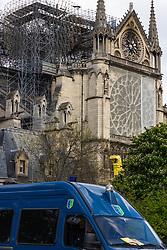 April 29, 2019 - Paris, France - illustration cathedrale notre dame de paris (Credit Image: © Panoramic via ZUMA Press)