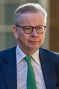 Chancellor of the Duchy of Lancaster Michael Gove arrives in Downing Street on Tuesday, 21 July 2020 – to attend a Cabinet meeting for the first time since the lockdown to be held at the Foreign and Commonwealth Office (FCO) in London. (VXP Photo/ Vudi Xhymshiti)