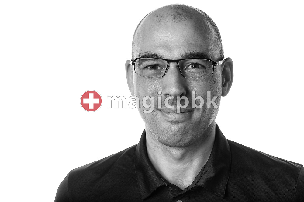SC Uster Wallisellen's team doctor Philip WILDISEN of Switzerland poses for a portrait during a photo session at the Hallenbad Buchholz in Uster, Switzerland, Saturday, Feb. 4, 2017. (Photo by Patrick B. Kraemer / MAGICPBK)