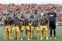 Fotball<br /> Foto: imago/Digitalsport<br /> NORWAY ONLY<br /> <br /> Lagbilde Apoel team pose for a photo during their Champions League third qualifying round second leg against HJK Helsinki at GSP stadium in Nicosia, Cyprus, Tuesday, August 6, 2014 APOEL vs HJK Helsinki Champions League 2014/2015